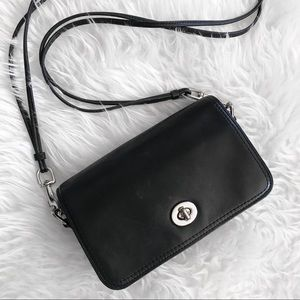 Authentic Coach Archive Leather Penny Bag 19914